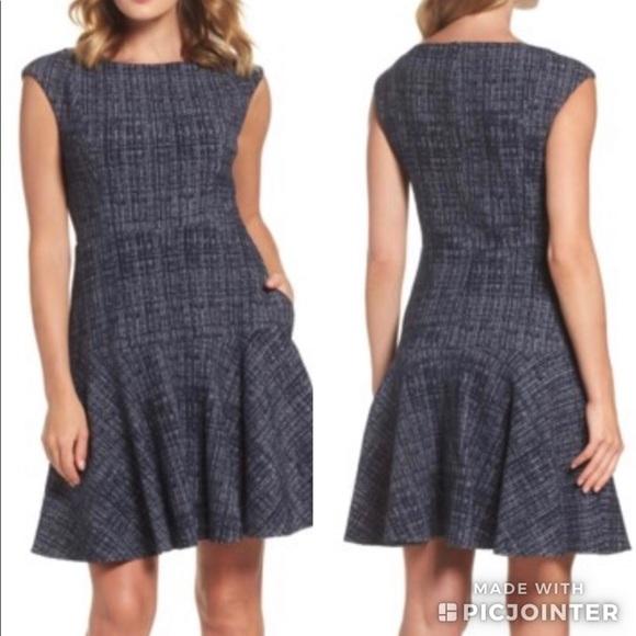 Eliza J Dresses & Skirts - NWT | Eliza J Tweed Fit & Flare Dress